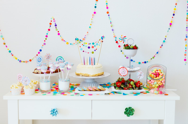 Sweeten Your Party with an Ice Cream Dessert Table